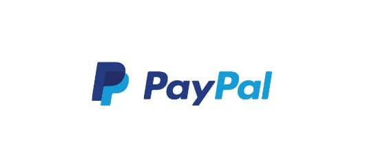 PayPal logo with white background color